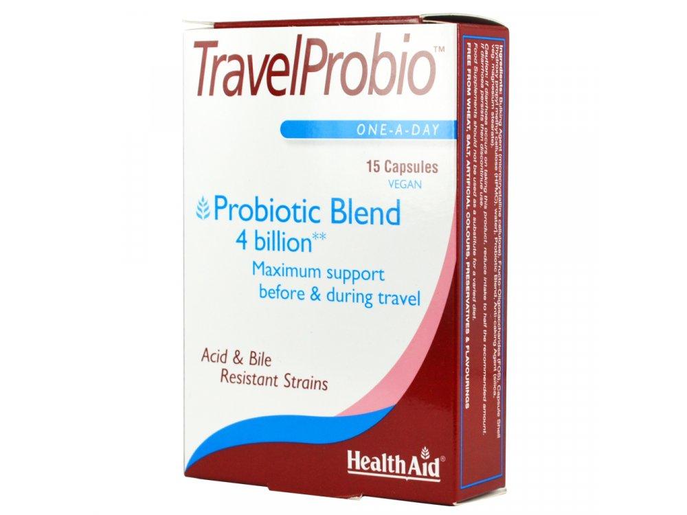 Health Aid Travel Probio 15caps
