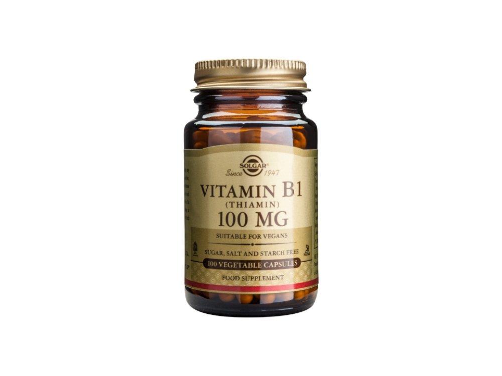 Solgar Vitamine B1 100mg 100Vegs.Caps