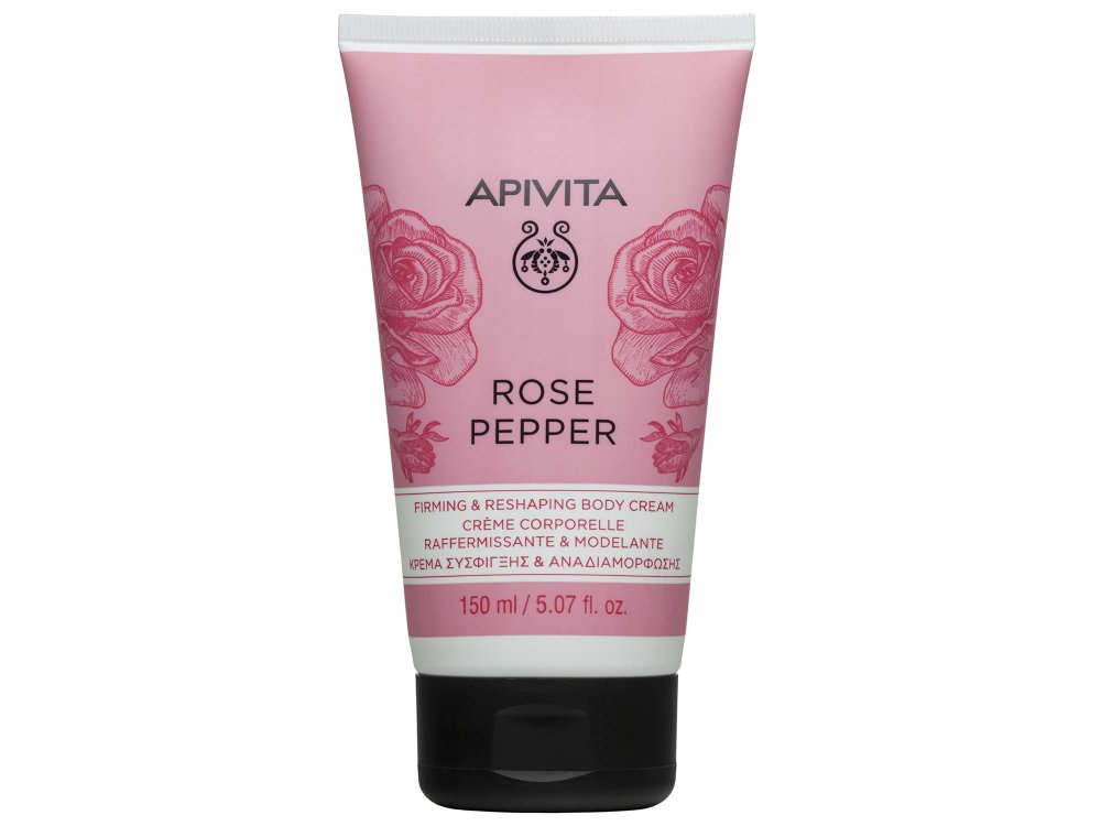 Apivita Κρέμα Σύσφιγξης Rose Pepper Cream 150ml