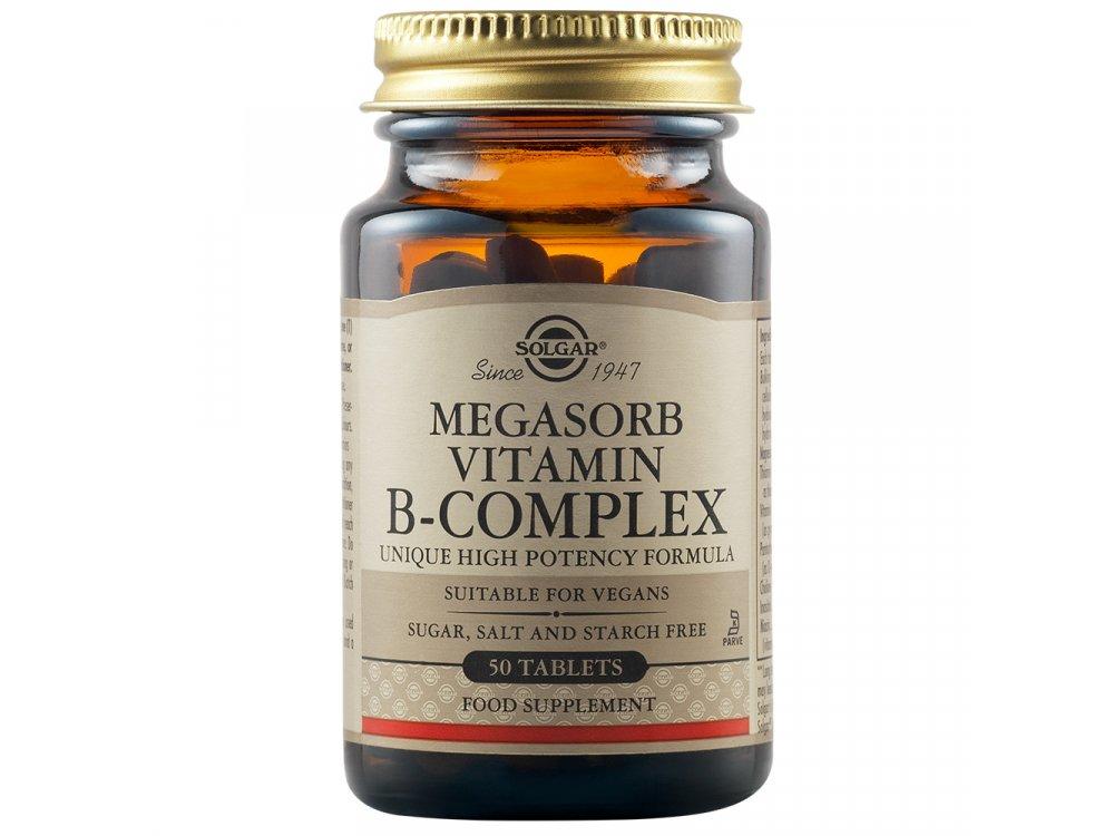 Solgar Megasorb B-Complex 50tabs