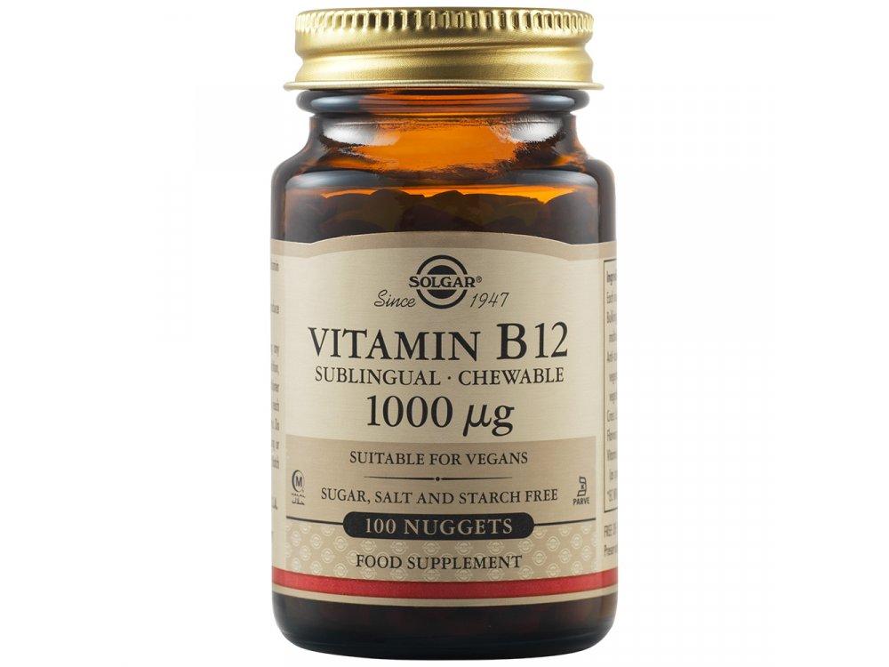 Solgar Vitamin B12 100nuggets