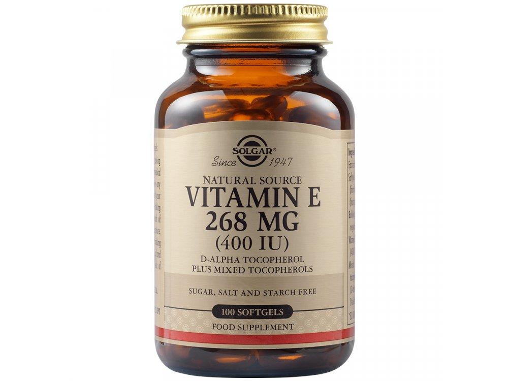 Solgar Vitamin E 400 IU 100 softgels