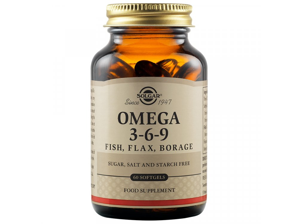 Solgar Omega 3-6-9 60softgels