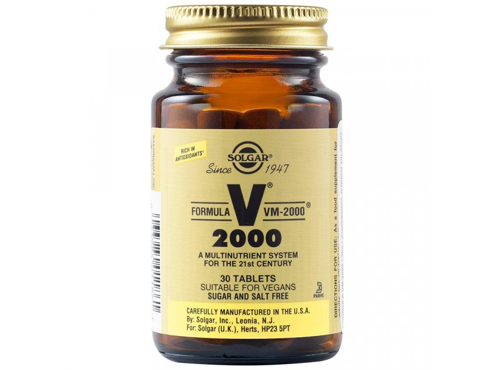 Solgar Formula VM 2000 30tabs