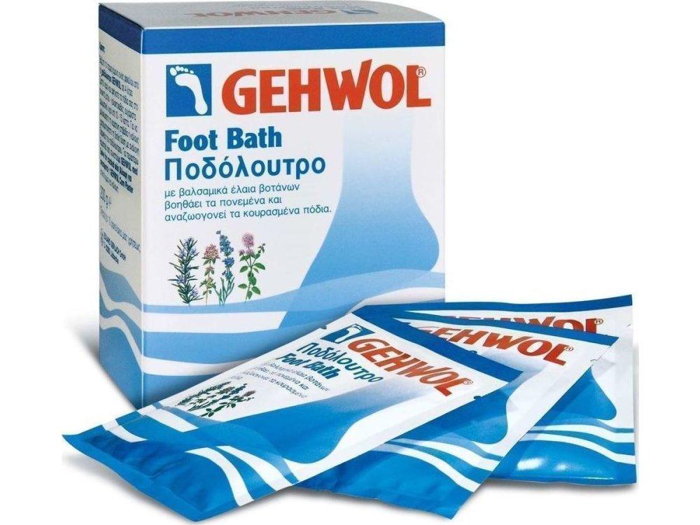 Gehwol Foot Bath, Περιποιητικό Ποδόλουτρο, 10x20gr