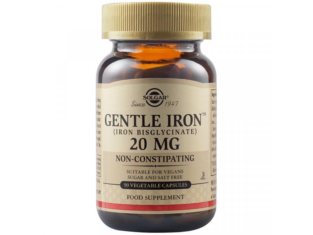 Solgar Gentle Iron 20mg 90Vegs.Caps