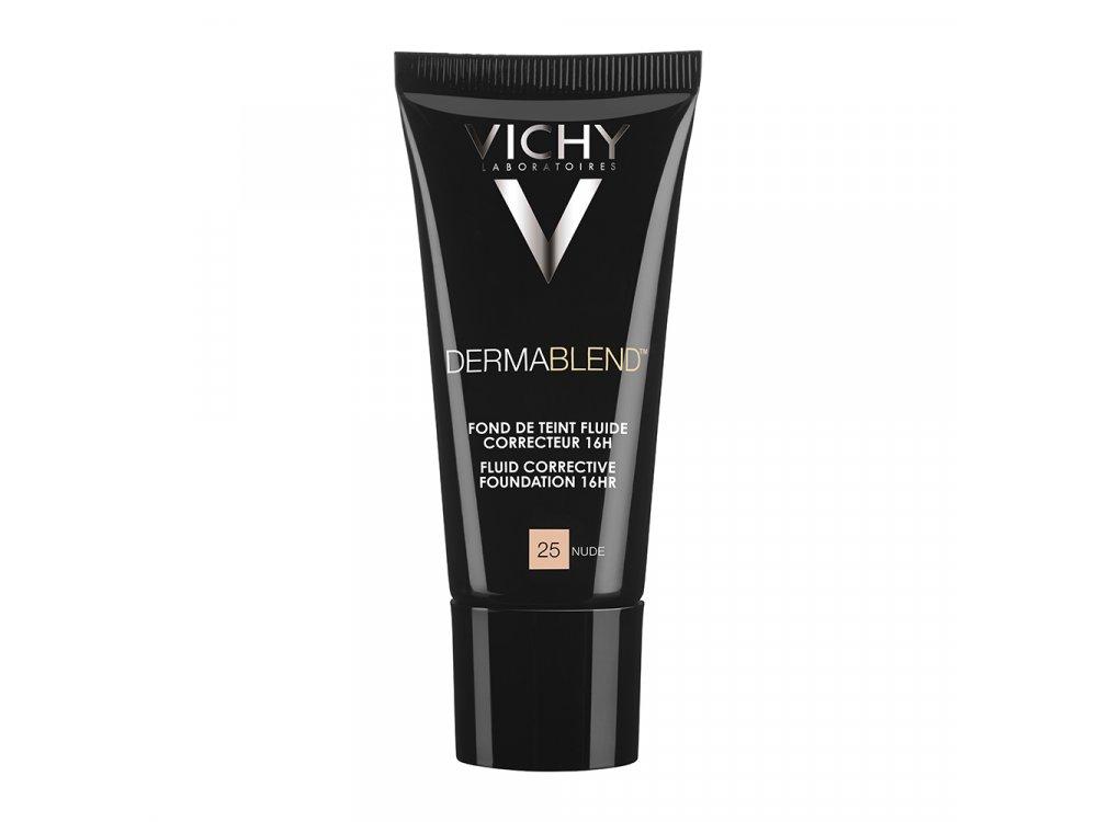 Vichy Dermablend Fluid Make-up 25 Nude 30ml