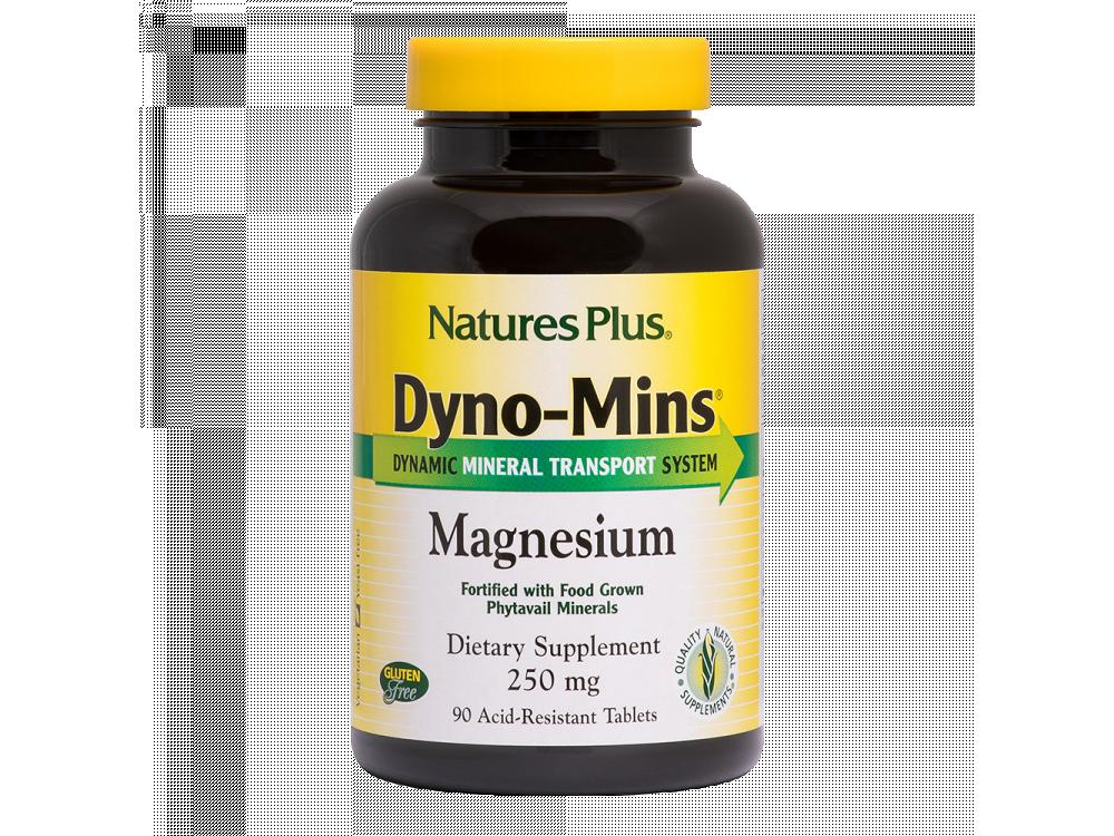 Nature's Plus Magnesium Dyno-Mins 250mg 90tabs