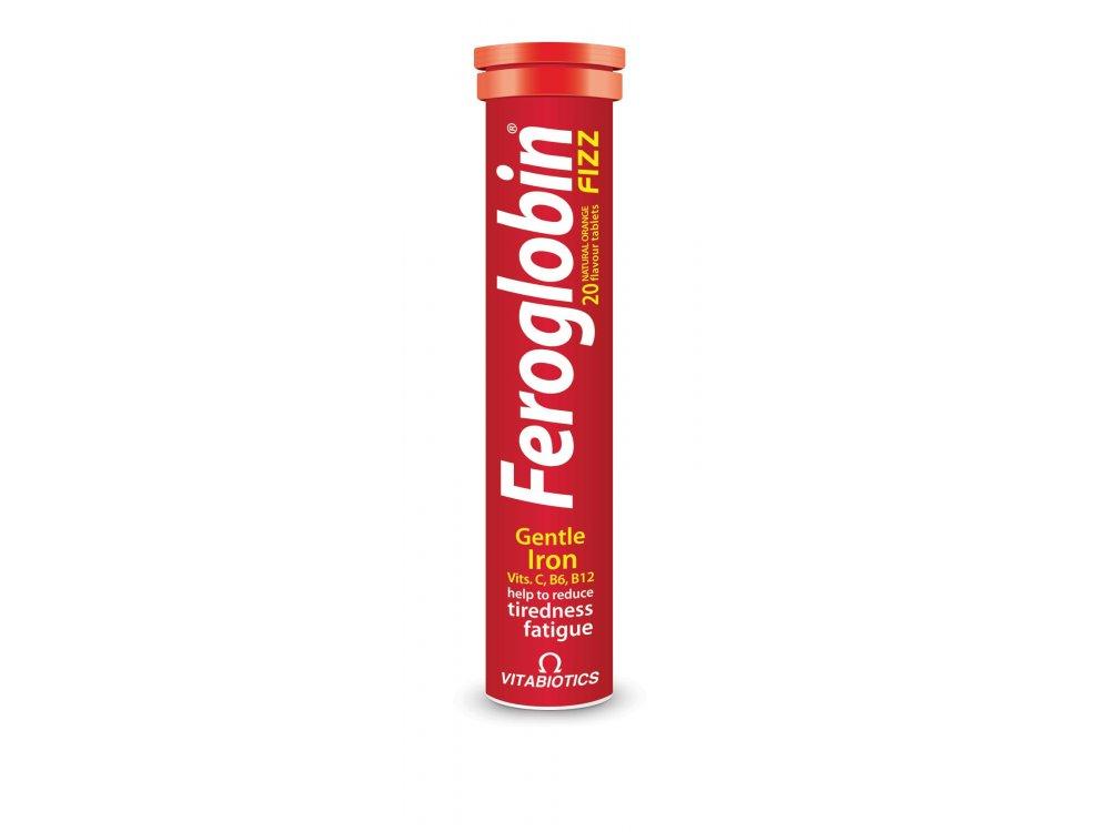 Vitabiotics Feroglobin® Fizz 20tabs