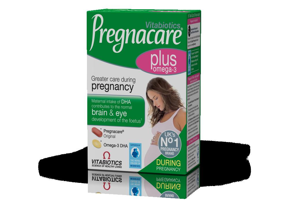 Vitabiotics Pregnacare® Plus  28tabs & 28caps