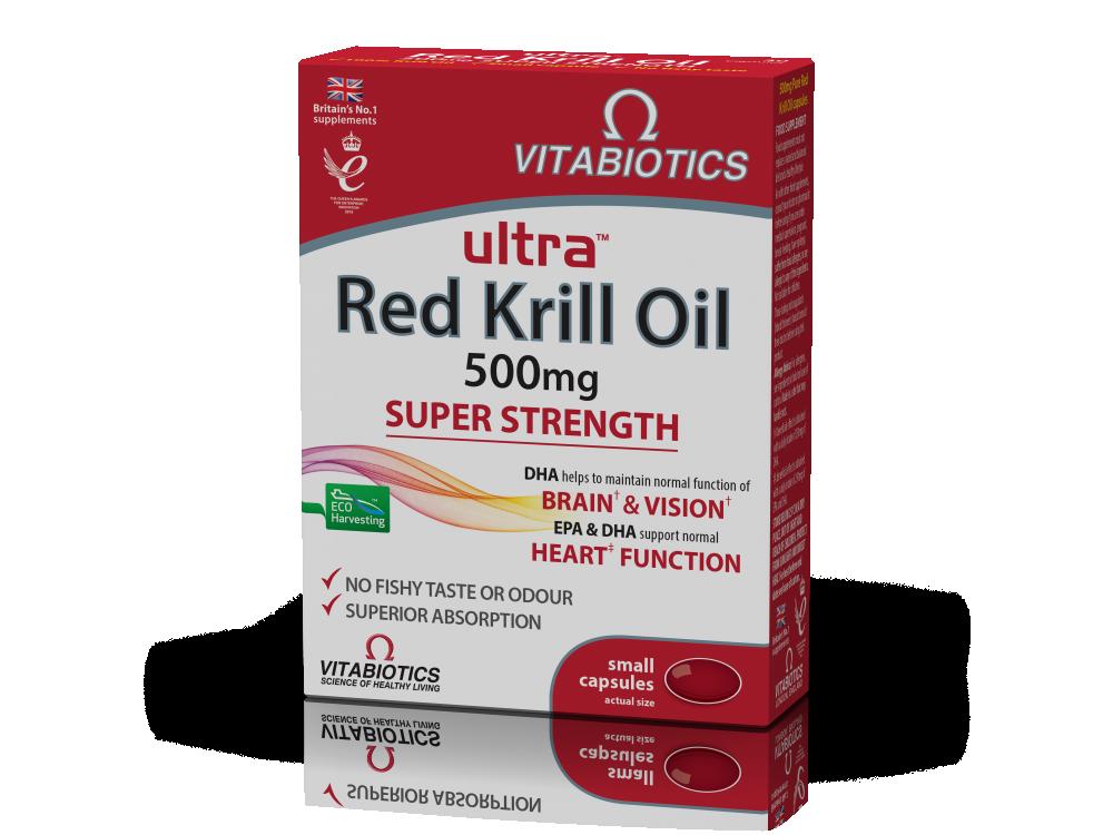 Vitabiotics Ultra® Red Krill Oil 30caps