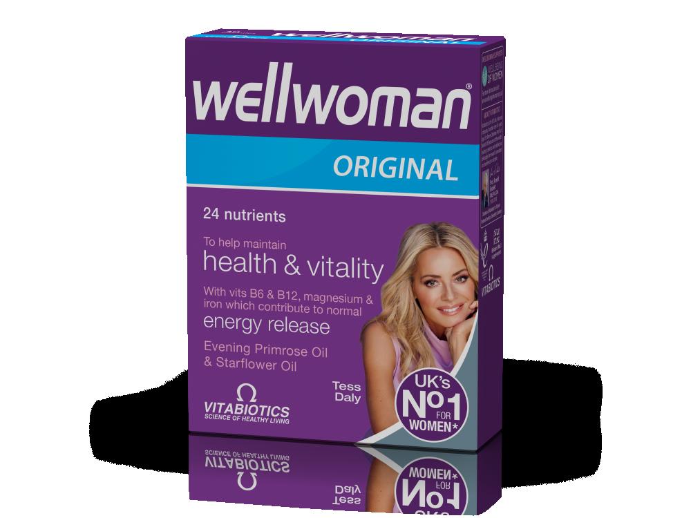 Vitabiotics Wellwoman® Original 30caps