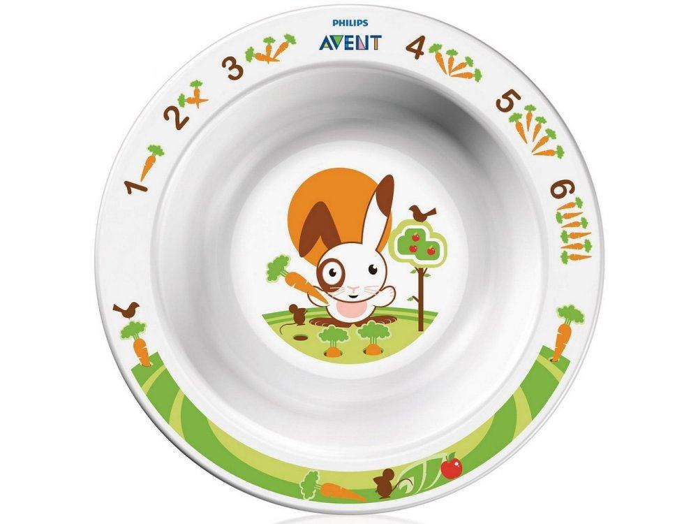 Philips Avent Μπώλ Φαγητού Μικρό 6m+, SCF706/00, 1τμχ