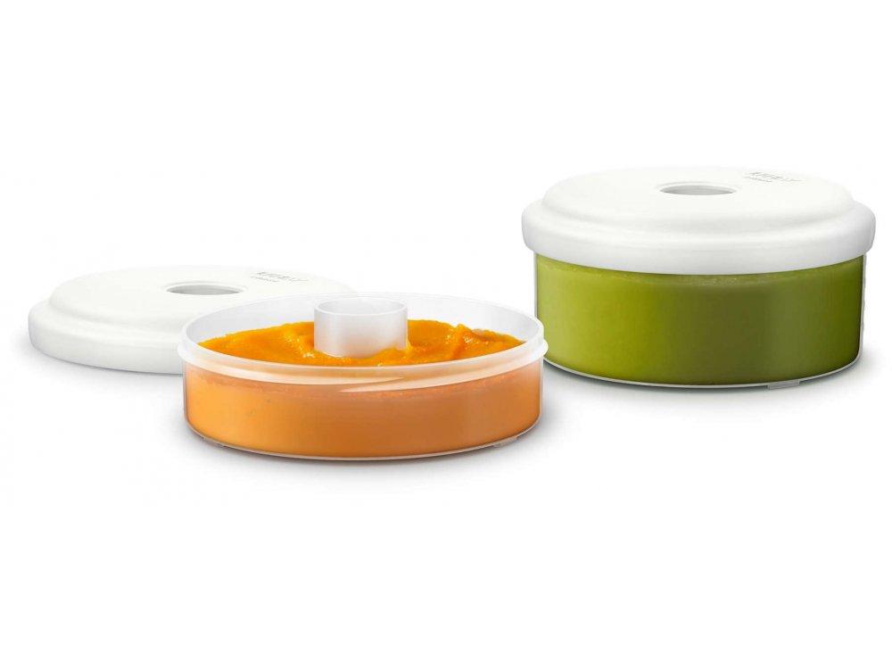 Philips Avent Σκεύη Αποθήκευσης Φρέσκων Τροφίμων, SCF876/02, 2τμχ
