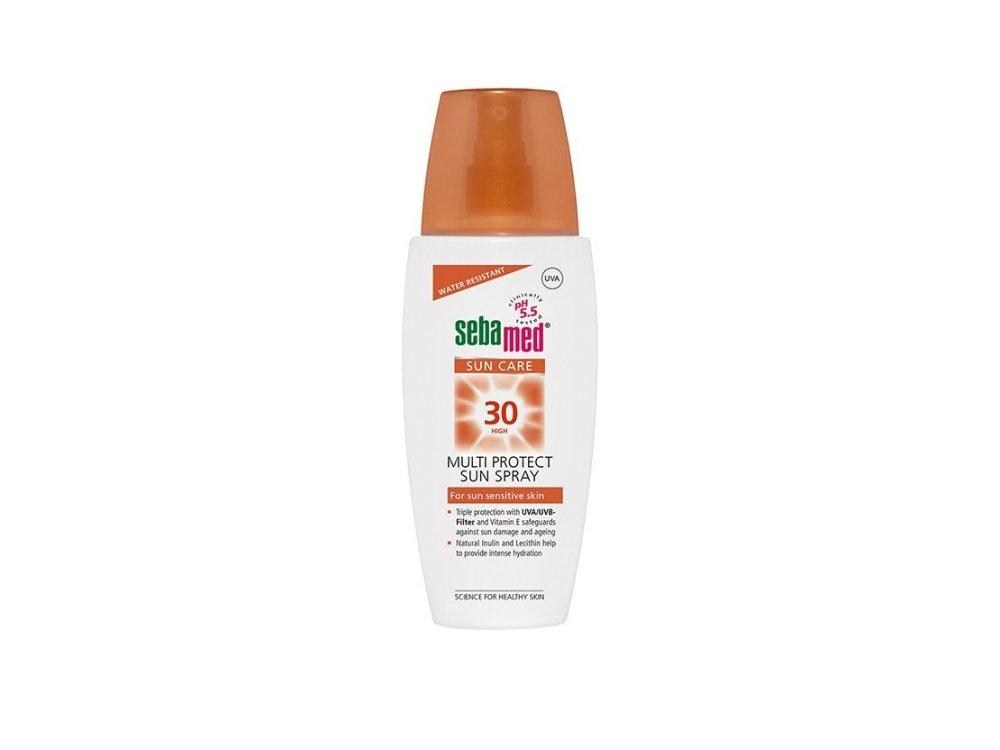 Sebamed Sun Spray SPF30, Αντηλιακή κρέμα για Πρόσωπο & Σώμα, 150ml