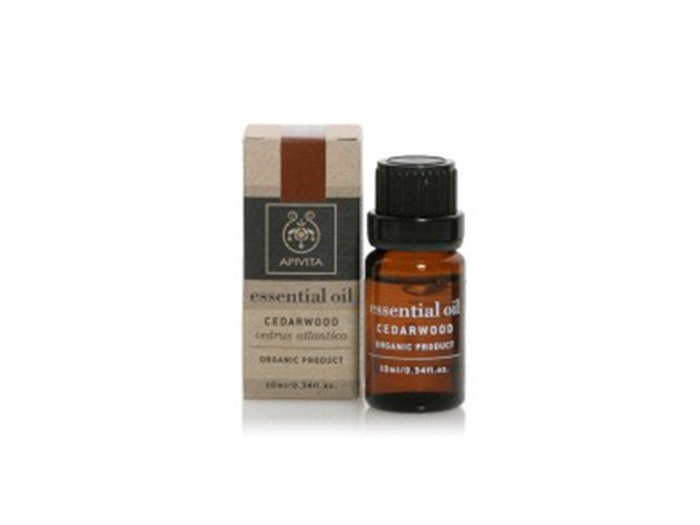 Apivita Essential Oil Cedarwood Αιθέριο Έλαιο Κέδρου,10ml