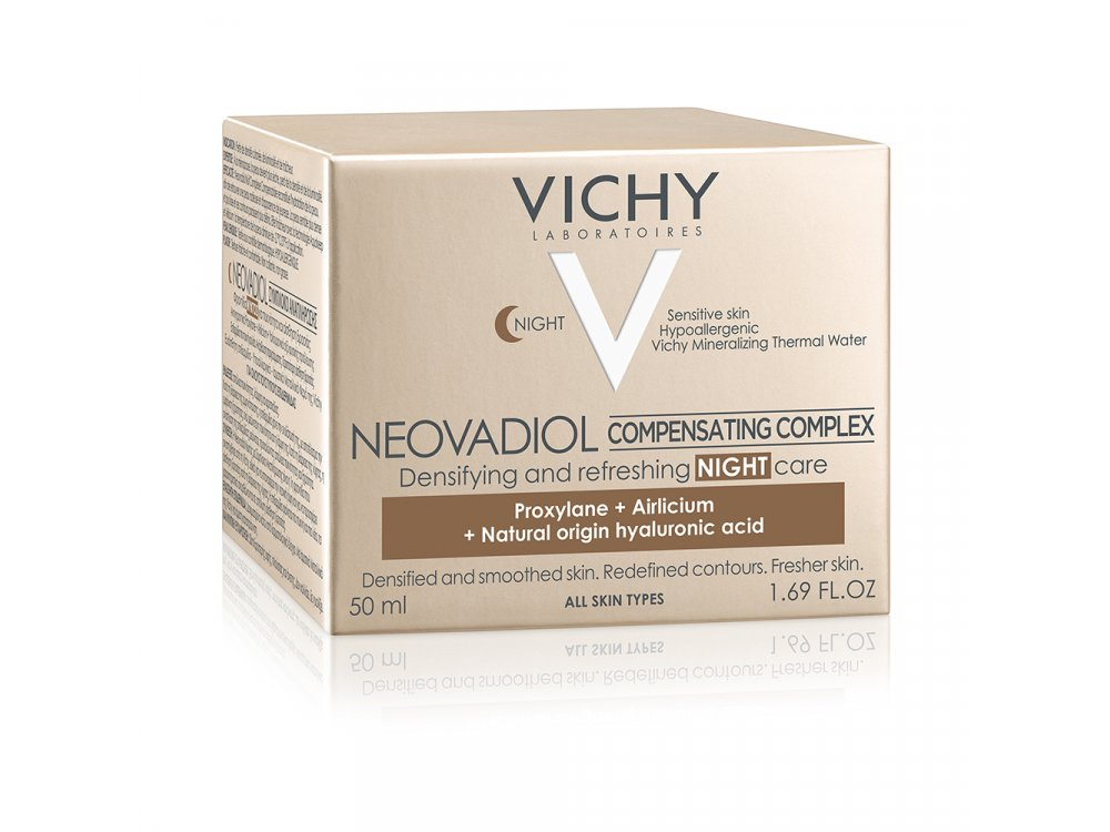 Vichy Neovadiol Compensating Complex Night, Συμπλοκο Αναπλήρωσης στην Εμμηνόπαυση Κρέμα Νυκτός, Κανον/Μικτές 50ml
