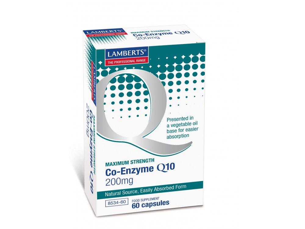 Lamberts Co-Enzyme Q10 200mg 60caps