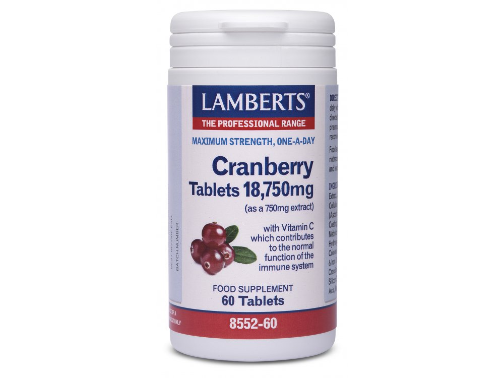 Lamberts Cranberry 60tabs