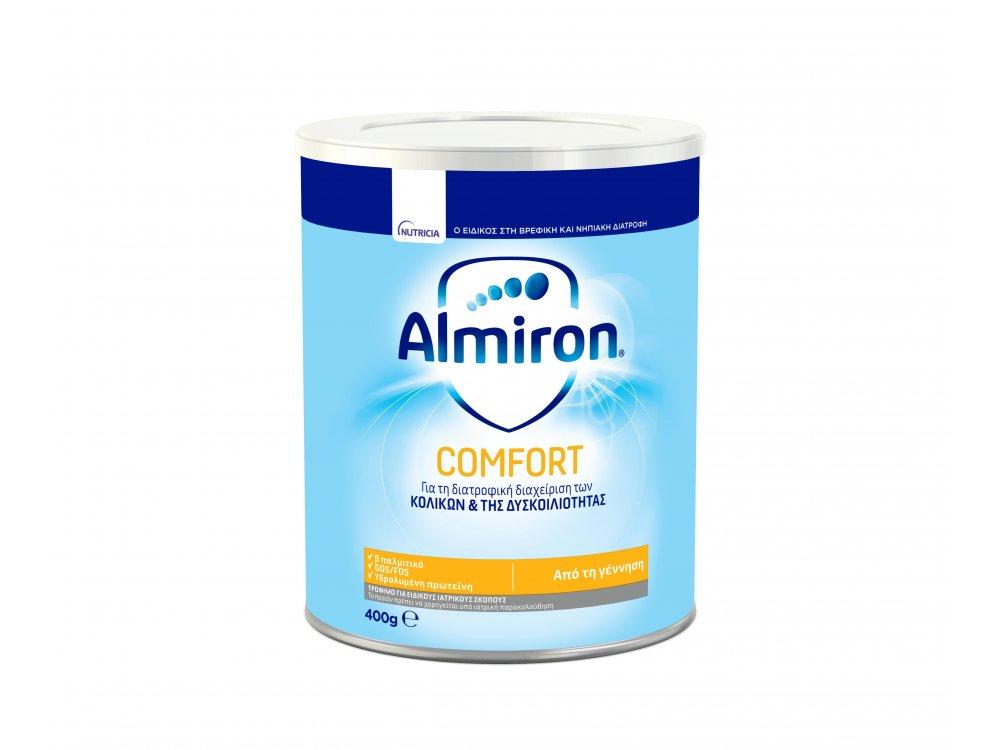 Almiron Comfort, Συνιστάται για τη Διατροφική Αντιμετώπιση της Δυσκοιλιότητας, 400gr