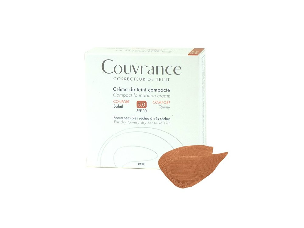 Avene Κρέμα Compact Confort - Soleil Συσκευασία 10gr