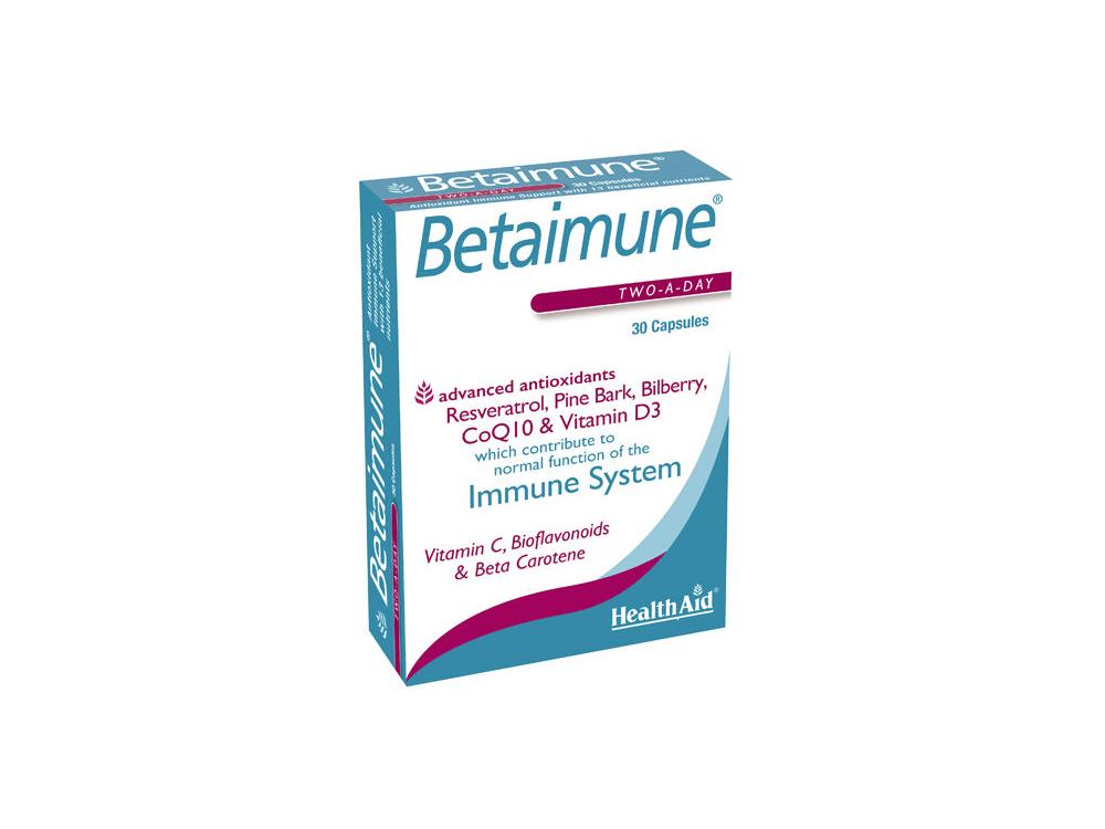 Health Aid Betaimune Antioxidant 30caps