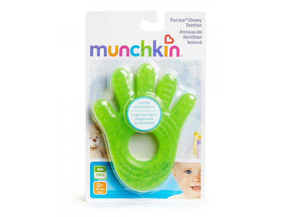 Munchkin Fun Ice Chewy Teether 0m+, Παιχνίδι Μάσησης για την οδοντοφυΐα, 1τμχ