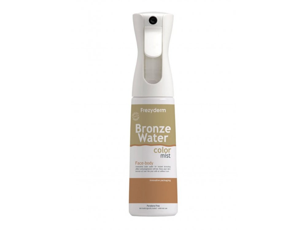 Frezyderm Water Color Mist, Αυτομαυριστικό για Ομοιόμορφο Φυσικό Bronze Χρώμα στην Επιδερμίδα, 300ml