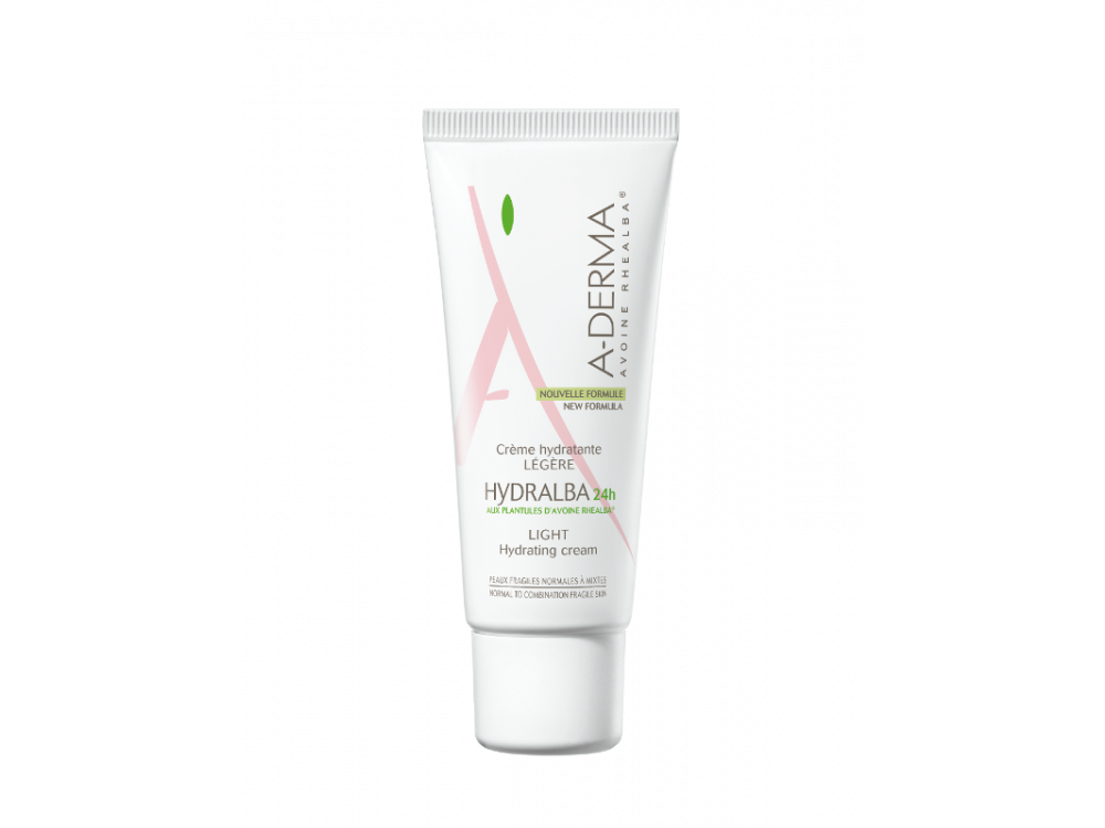 A-derma Hydralba crème hydratante légère 40ml