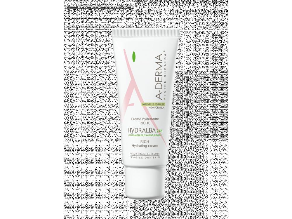 A-derma Hydralba crème hydratante riche 40ml