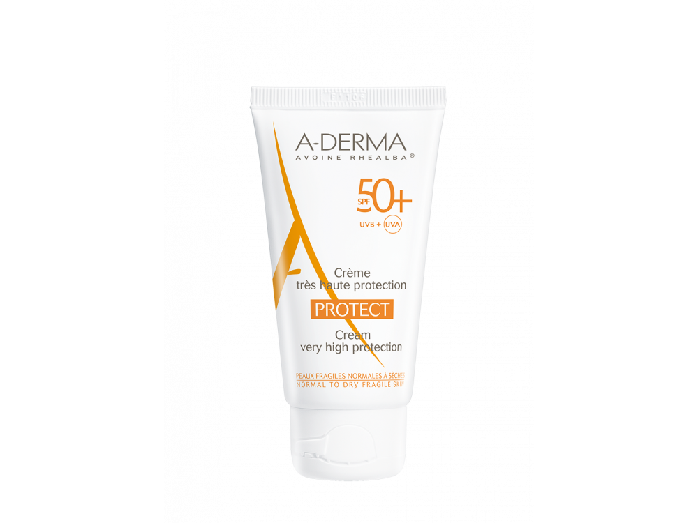 A-derma PROTECT Crème visage SPF 50+ 40ml