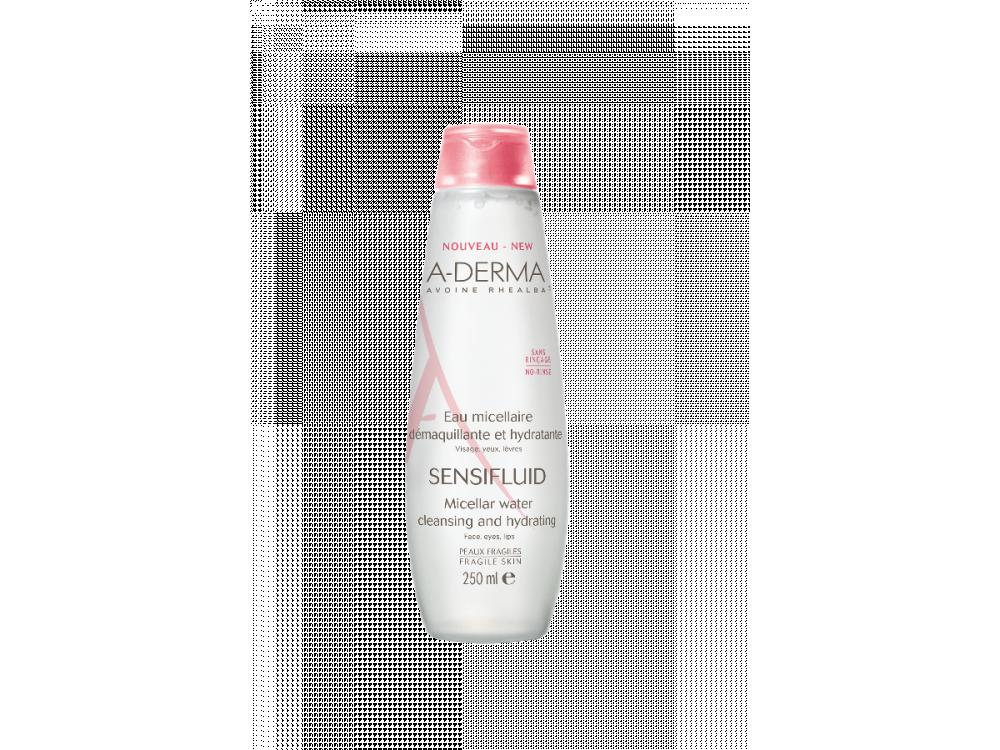 A-derma Sensifluid eau micellaire - 250ml