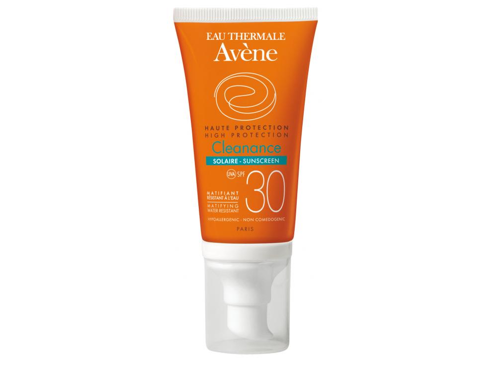 Avene Cleanance Solaire SPF30 Αντιηλιακή Κρέμα Προσώπου για Δέρμα με Τάση Ακμής, 50ml