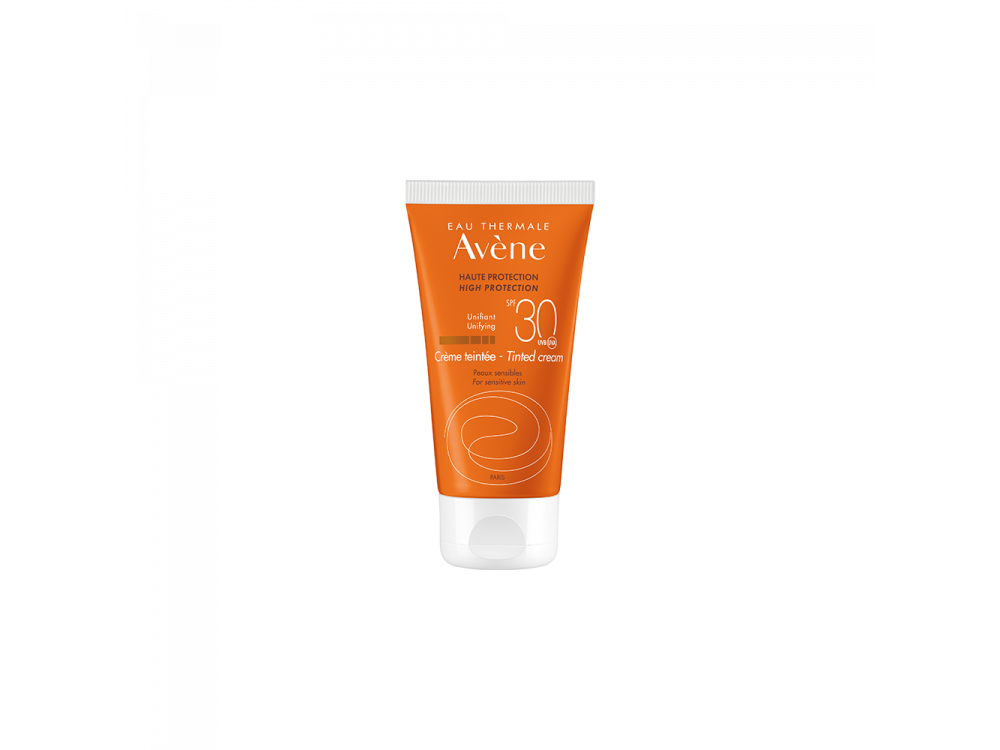 Avene Creme Teintee SPF30 Αντιηλιακή Κρέμα Προσώπου με Χρώμα για Ευαίσθητες Επιδερμίδες, 50ml