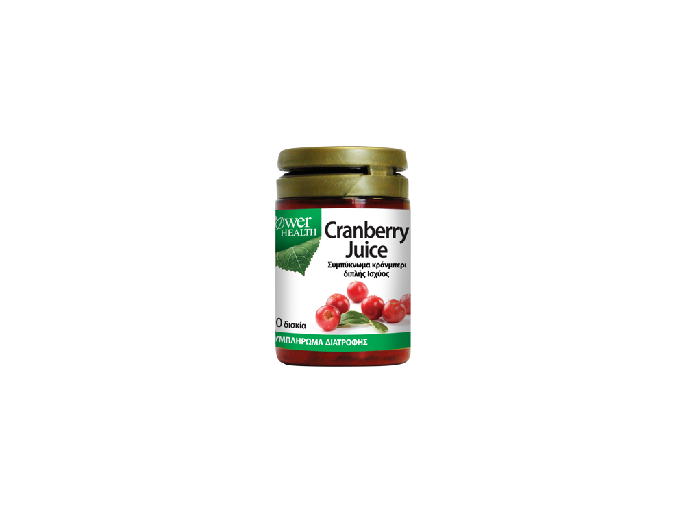 Power Health Cranberry Juice 4500 mg Για την προστασία του ουροποιητικού, 30 tabs
