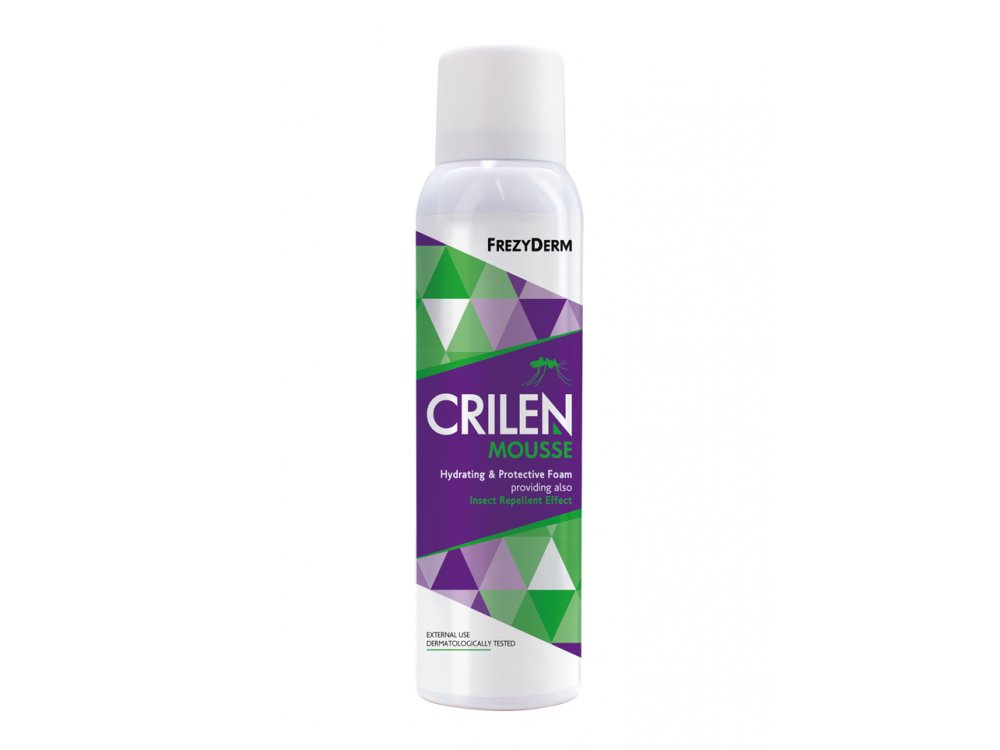 Frezyderm Crilen Mousse Ενυδατικό Εντομοαπωθητικό σε Μορφή Aφρού, 150ml