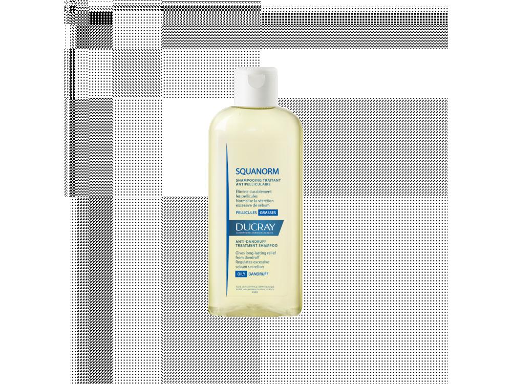 Ducray - Squanorm shampoo pellicules grasses - 200ml