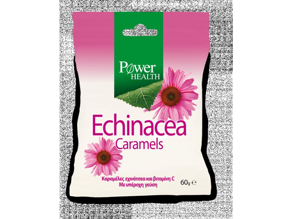 Power Health Echinacea Caramels, Καραμέλες Εχινάκειας, 60gr