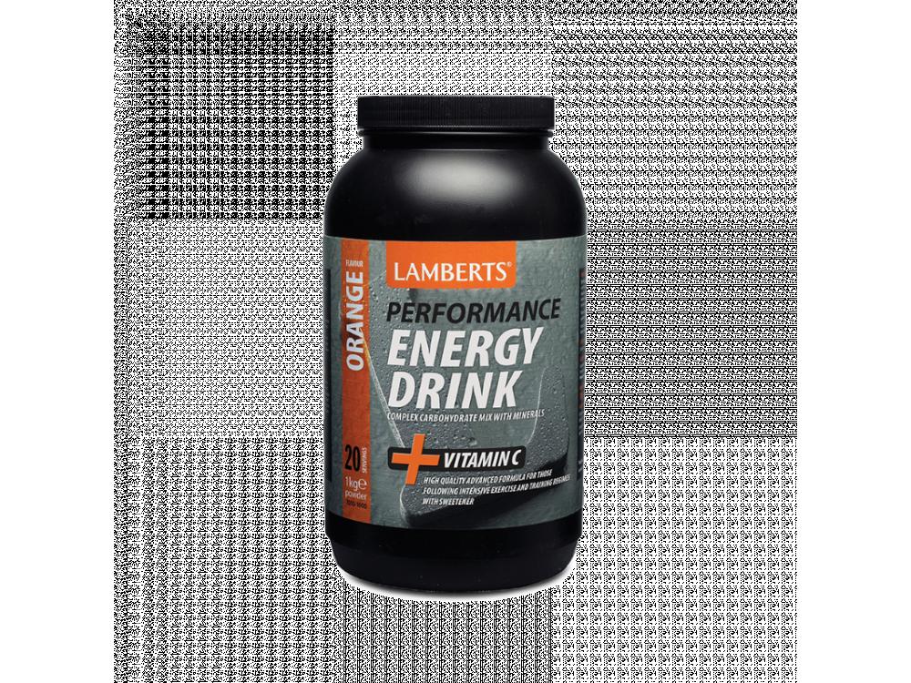 Lamberts Energy Drink με γεύση πορτοκάλι και ηλεκτρολύτες