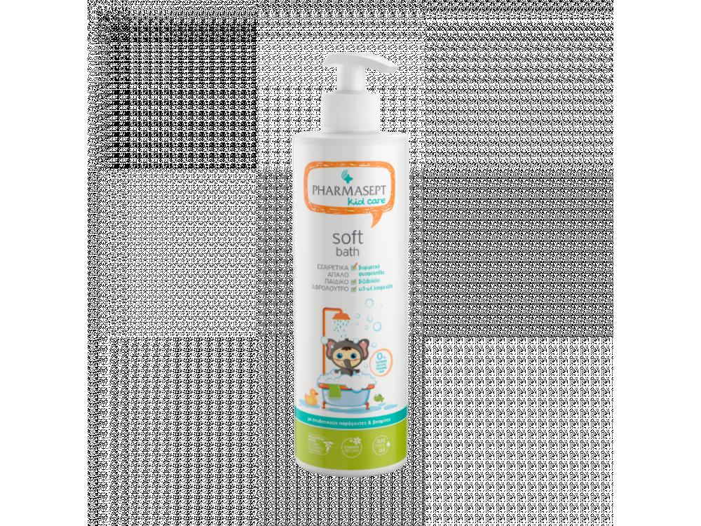 Pharmasept Kid Soft Bath, Παιδικό Αφρόλουτρο για Σώμα & Ευαίσθητη Περιοχή, 500ml