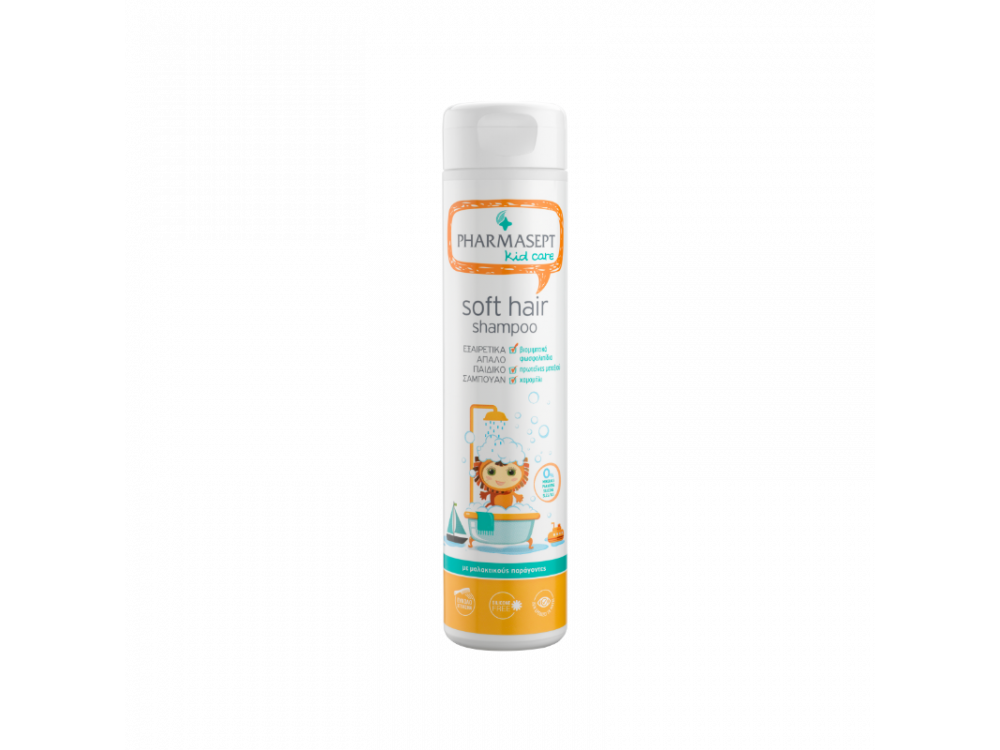 Pharmasept Kid Soft Hair Shampoo, Παιδικό Σαμπουάν Καθημερινής Χρήσης για Απαλά Μαλλιά, 300ml