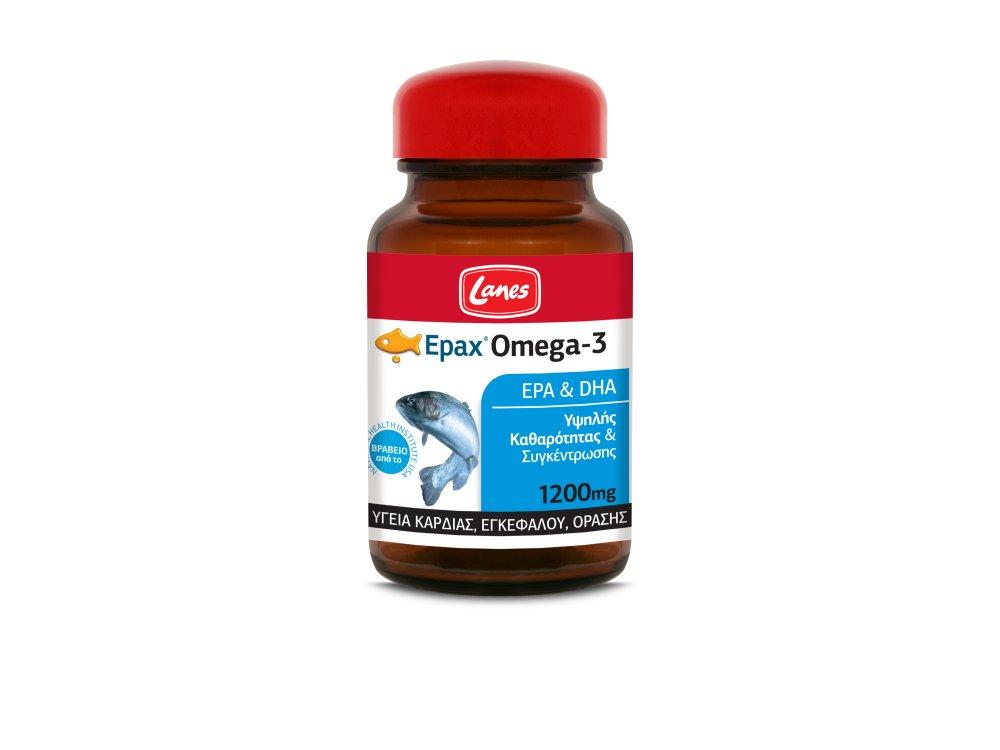 Lanes Epax® Omega-3, 30 tabs