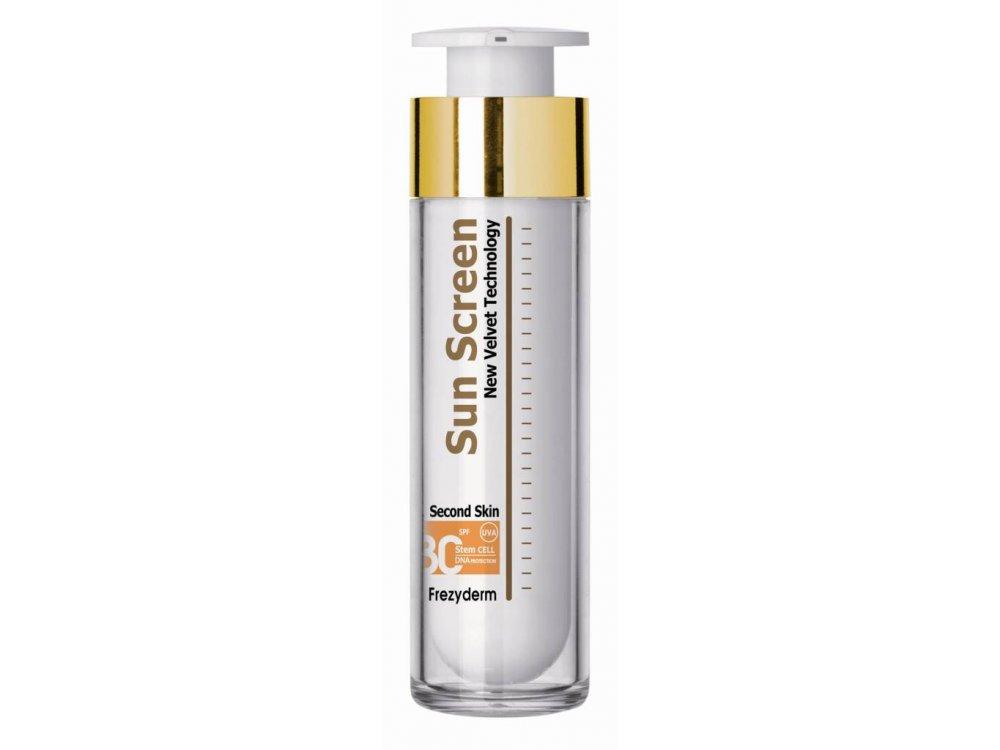 Frezyderm Sun Screen Velvet Face Cream SPF30 Αντηλιακή Κρέμα Προσώπου, 50ml
