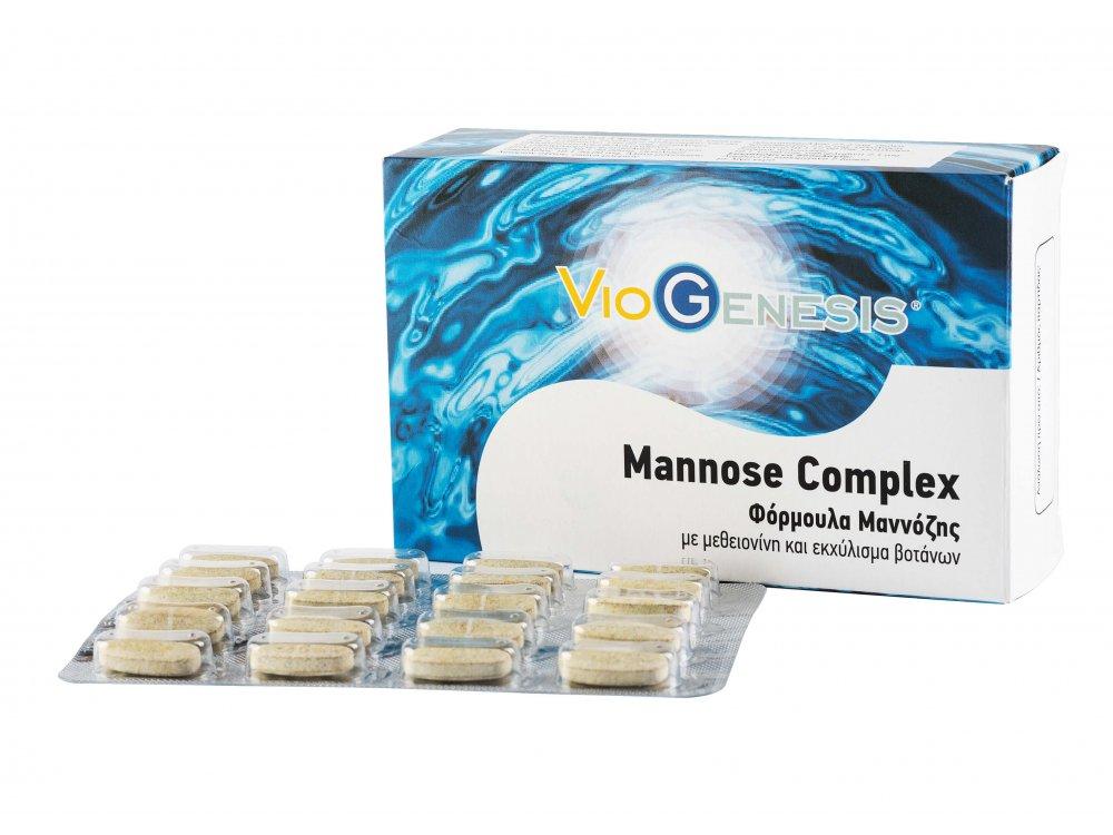 VioGenesis Mannose Complex 500 mg 60tabs