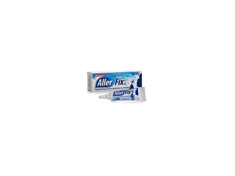 InterMed Aller Fix, Gel για την Αντιμετώπιση Αλλεργιών με Φυσικό Τρόπο, 6gr