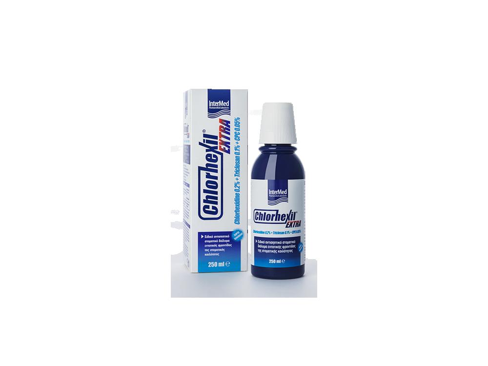 InterMed Chlorhexil Extra Mouthwash, Στοματικό Διάλυμα, 250ml