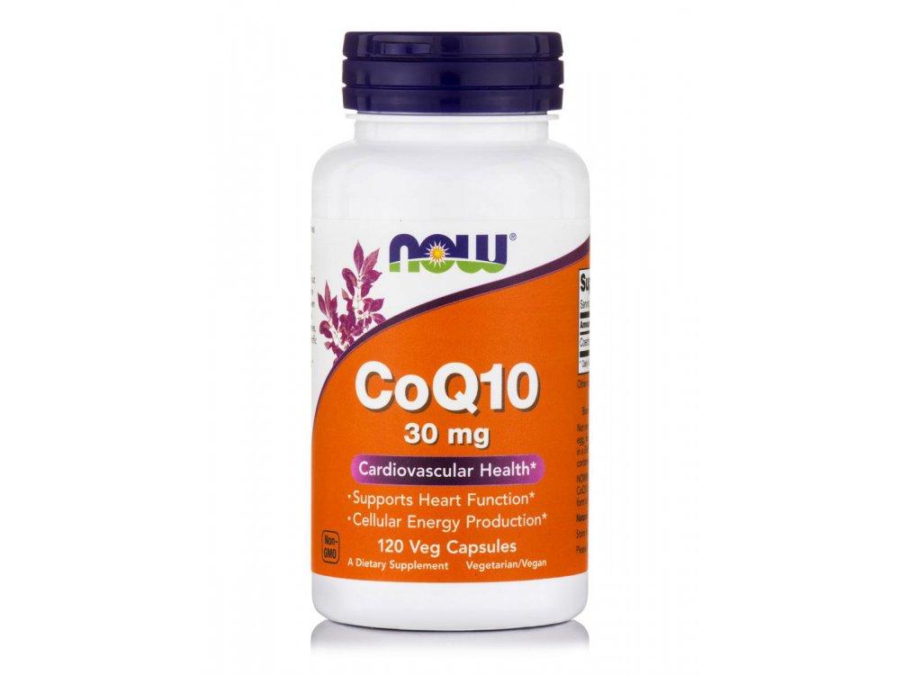 Now CoQ10 30mg 120veg.caps
