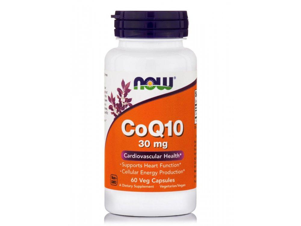 Now CoQ10 30mg 60veg.caps