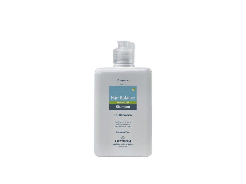 Frezyderm Hair Balance Shampoo Σαμπουάν για τον Ήπιο Καθαρισμό των Μαλλιών κατά τα Μεσοδιαστήματα Αγωγών, 200ml
