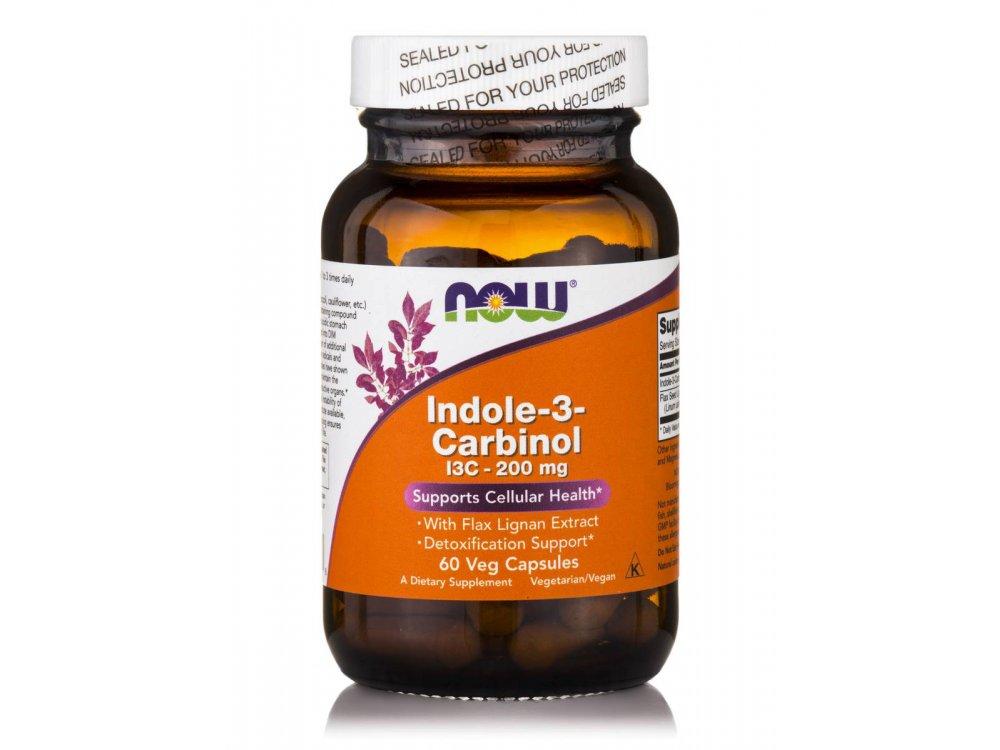 Now Indole -3- Carbinol I3C 200mg 60vegscaps